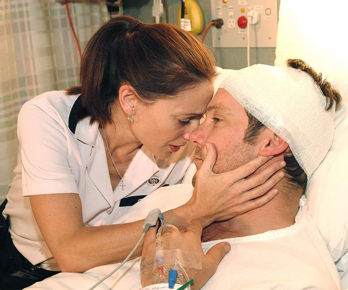 """***All Saints* 1998: ** Medical series* All Saints *loved a good romance. None more so than that of nurse Terri Sullivan (**Georgie Parker**) and Dr Mitch Stevens (**Erik Thomson**). Both picked up Logies for their roles .""""The Logies have a lot to do with the show and the character you're playing,"""" Georgie, 52, says. """"I owed a lot to the show."""""""