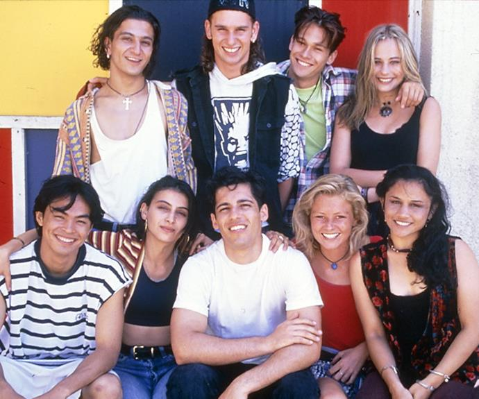***Heartbreak High* 1994: ** They were the cool kids everyone wanted to go to school with in the '90s. There was heartthrob Nick (**Alex Dimitriades**), his cousin Con (**Salvatore Coco**) and feisty Katerina (**Ada Nicodemou**). It was praised for dealing with issues such as teen pregnancy and drugs.