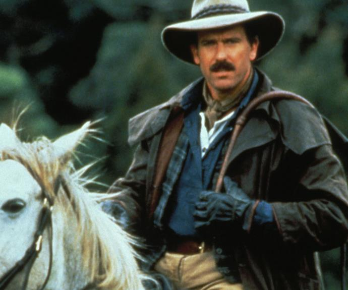 ***The Man From Snowy River* 1993: ** The period drama series followed the life of squatter Matt (**Andrew Clarke**) and his family. A swag of Australian celebrities appeared throughout the four seasons, including **Guy Pearce, Hugh Jackman** and **Olivia Newton-John. **
