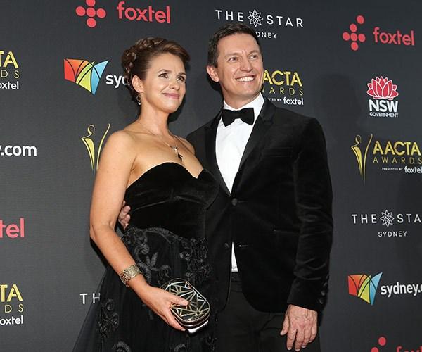Rove and wife Tasma Walton win the AACTA for cutest couple!