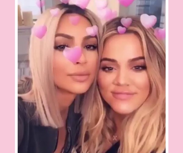 Kim showed-off her chic new look in a video with her sister Khloe, who is reportedly pregnant with her first child. Hairstylist Jen Atkin posted the video, hinting that Kim's hair transformation was brand new.