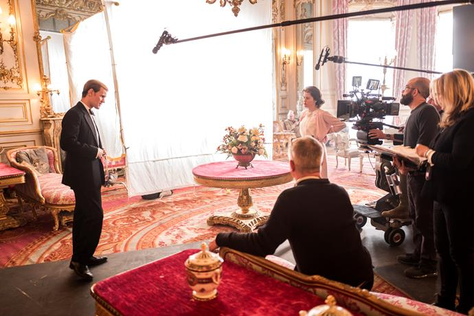"*The Crown*'s royal advisor, Major David Rankin-Hunt, who worked at the palace for 33 years, gives the production a big thumbs-up. ""Sometimes I have to pinch myself when I see Claire Foy,"" he says. ""She looks so much like the Queen it's astonishing."""