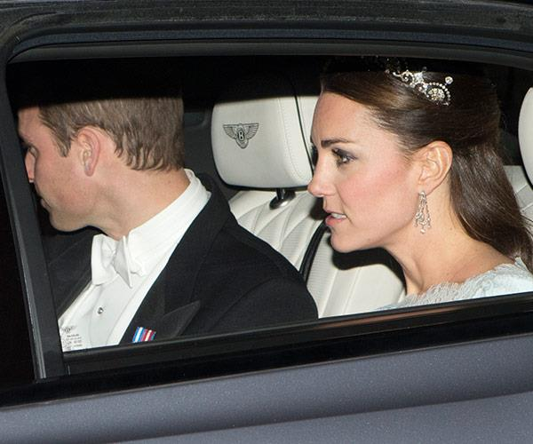 In 2013, Catherine wore the Lotus Flower tiara. *(Image: Splash)*