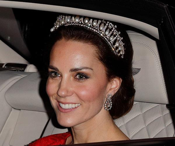 The event is seen as the main diplomatic social event of the year and requires royals to wheel out all their finery. *(Image: Rex Features)*
