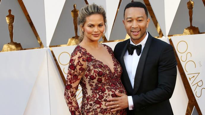 """Chrissy Teigen was among the celebs eventuated. """"Never thought I'd get to actually play what I thought was a hypothetical game of what would you grab if there were a fire. so far all I have is Luna, some limited edition Oreos and my spike tv award,"""" she said on Twitter."""