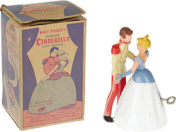 **Walt Disney's Cinderella toys** Also popular in 1950 were toys and games based on the release of Walt Disney's latest feature film, which came out in July.