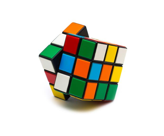 **Rubik's Cube**  We spent hours in 1980 trying to unscramble our Rubik's cube. It was one part fun to one part mental torture!