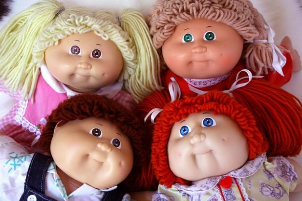 **Cabbage Patch Kids** These ever popular dolls where all the rage in 1983. They're worth a lot of money online today.