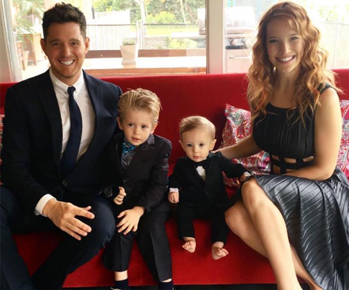 The gorgeous family.