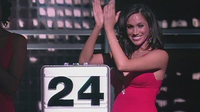 """**Deal or No Deal** From 2006 to 2007, Meghan was a """"Briefcase Girl"""" on the NBC game show Deal or No Deal, and she'd prefer not to talk about it, thank you very much."""