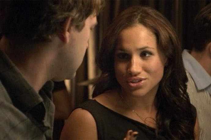 **The League** The actress - who happens to be a divorcée named Meghan - played a divorcée named Meghan in a 2009 episode of the FX comedy The League.