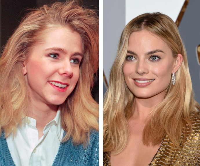 Will Margot's portrayal of Tonya Harding (L) land her an Oscar?