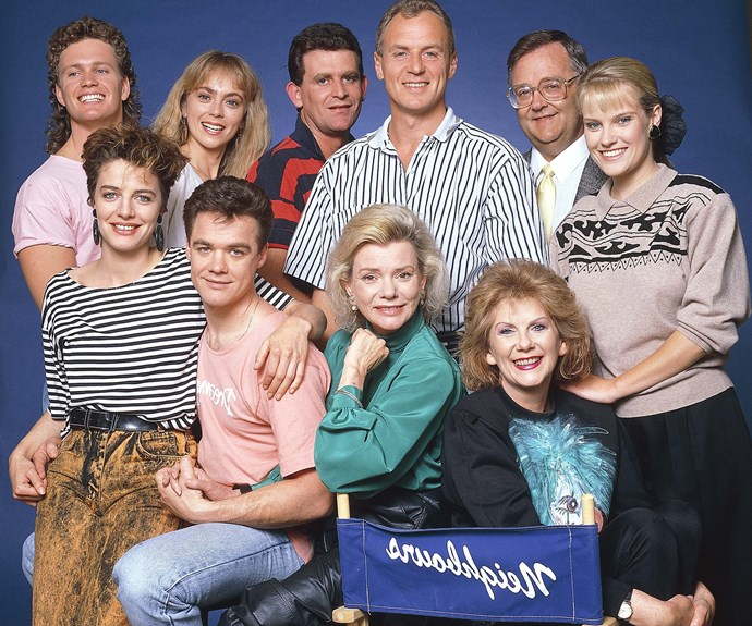 **Helen Daniels passes away:** Iconic *Neighbours* character Helen (**Anne Haddy**) died in 1997 after an illness. At the time, Anne had portrayed the character for more than 10 years. During the touching scenes, Helen returned home from hospital and was watching a video of Charlene (**Kylie Minogue**) and Scott's (**Jason Donovan**) wedding on the couch, surrounded by friends, when she passed away.