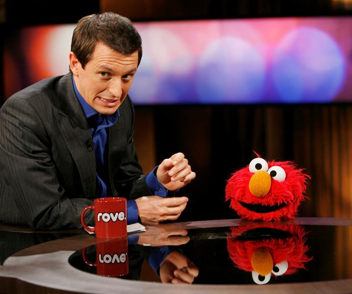 Rove's interview with Elmo was a huge hit.