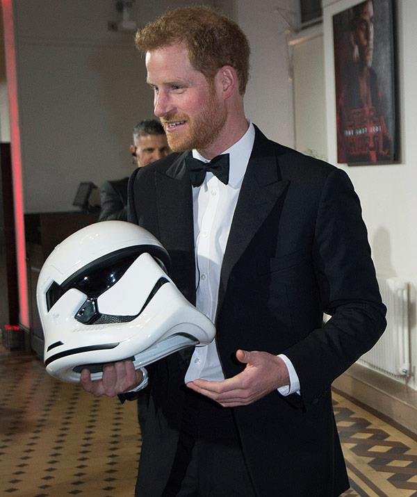 We can't wait to see Prince Harry and his acting chops!