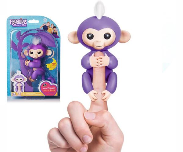 "Meet Fingerlings, the toy retailers are struggling to keep in stock.The cute little monkey grips your finger with its legs and arms, as it babbles, blows kisses and blinks its eyes. If early sales are anything to go by, this robot creature will be *the* hottest Christmas toy this year. [$20, Kmart](http://www.kmart.com.au/product/fingerlings---assorted/1571310|target=""_blank""
