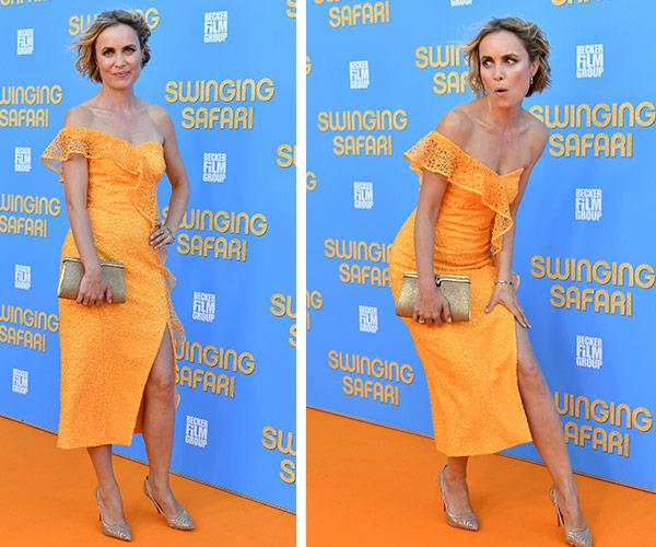 Radha Mitchell channels her best naughty and nice impressions.