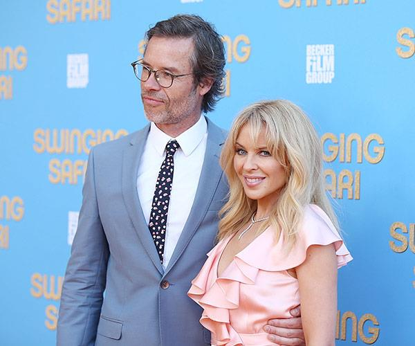 Back together again! Kylie and her former *Neighbours* co-star Guy Pearce star in the upcoming film set in seventies Australia.
