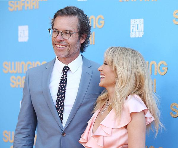 """The pair looked pretty happy to catch up. """"We were both 18 when we started that show and I don't imagine the acting was very good back then,"""" Guy joked of their acting skills to *NewsCorp* during their *Neighbours* days."""