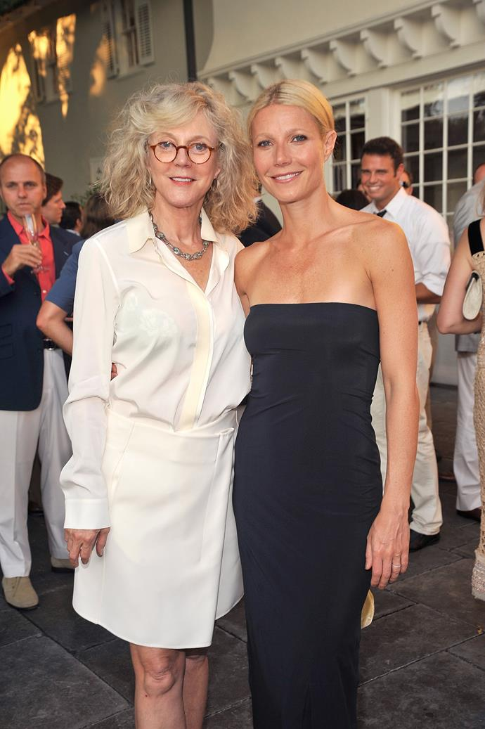 Gwyneth Paltrow and Blythe Danner are definitely mum-and-daughter goals.