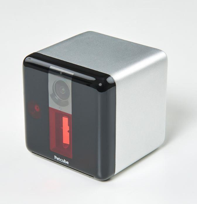 **Petcube play $259**  Use the camera to see and speak, and the built in laser on top to play.