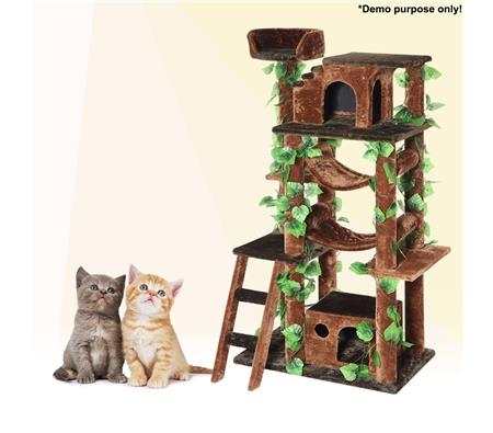 **Cat Activity Tree $99.97** at 160 cm high, your cat will have the best Christmas ever with this climbing tree