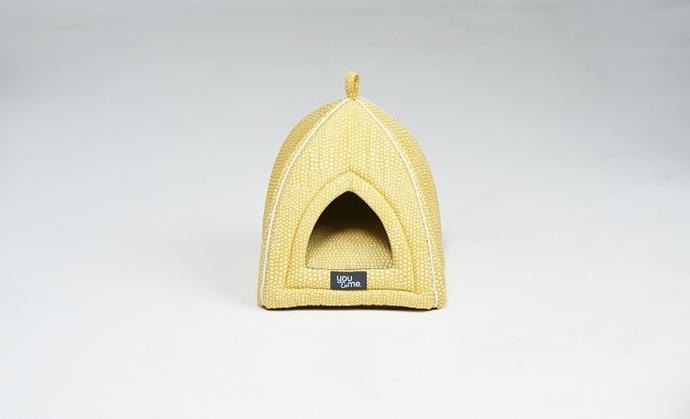 **Cat Igloo $37.50** If it fits, they going to to sits. This Igloo creates a secluded den-like haven for you feline friend and what cat wouldn't love that?