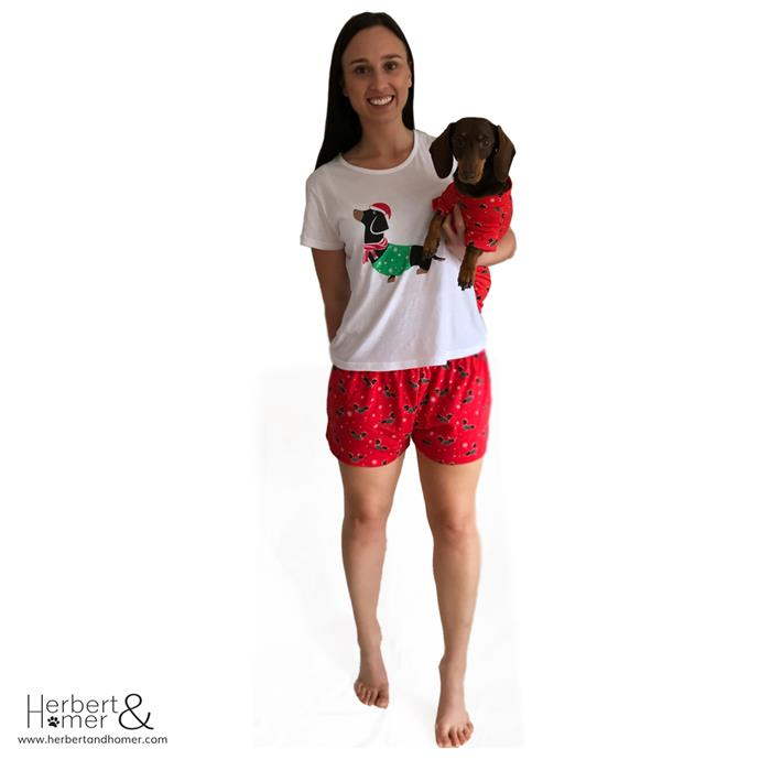 **Matching Pyjamas for you and your dog $64.95** Naturally, at the top of our list.
