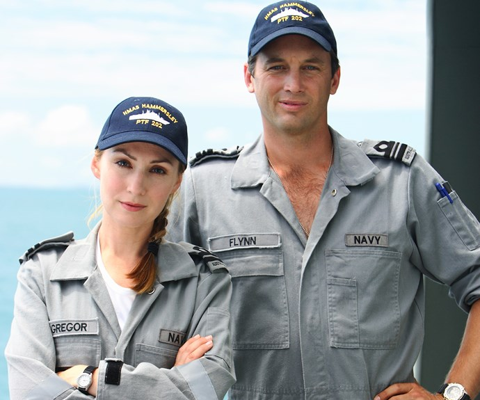 ***Sea Patrol *- 2007** Set on HMAS Hammersley, the big-budget drama ran for five seasons. Gold Logie winner **Lisa McCune** led the way as Lieutenant Kate McGregor, while **Ian Stenlake** joined her as Lieutenant Commander Mike Flynn.