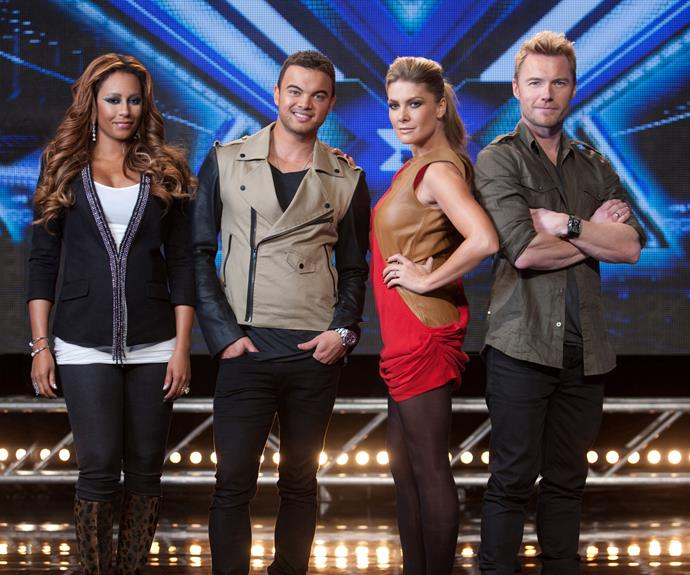 ***The X Factor Australia *- 2005** The *X Factor Australia* brought us hot, new singing talent. It saw artists like **Reece Mastin** find fame with the help of mentors and names including **Mel B, Guy Sebastian, Natalie Bassingthwaighte** and **Ronan Keating. **