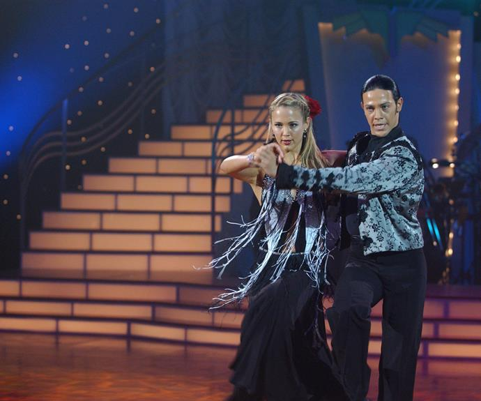 ***Dancing With The Stars *- 2004** It was a hit in the US, so when *Dancing With The Stars* arrived down under, it had all the right moves. Many Aussie celebrities took part in the live dance-off, including former *Home And Away *star **Bec Hewitt. **