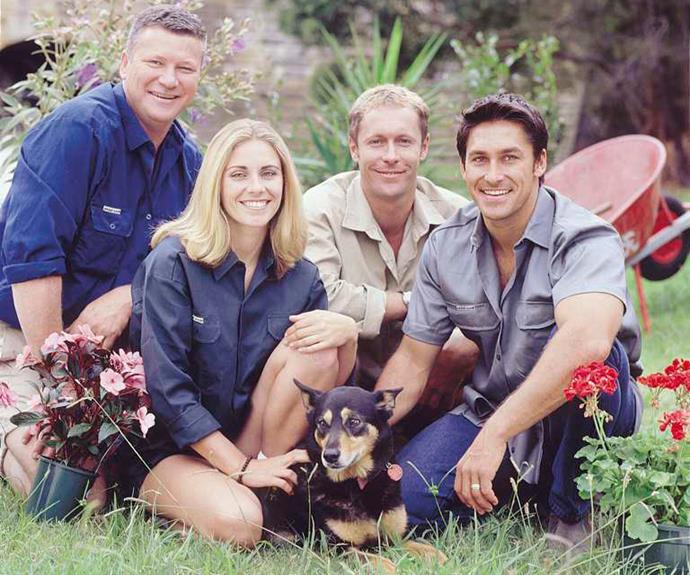 ***Backyard Blitz* - 2000** Remember when **Jamie Durie, Scott Cam, Jody Rigby** and **Nigel Ruck** would rock up and take over your garden? In its seven years on air, *Backyard Blitz* won the Logie Award for Most Popular Lifestyle Program six years in a row.