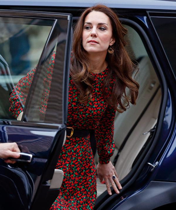 This royal knows exactly how to exit a car with no wardrobe malfunctions!