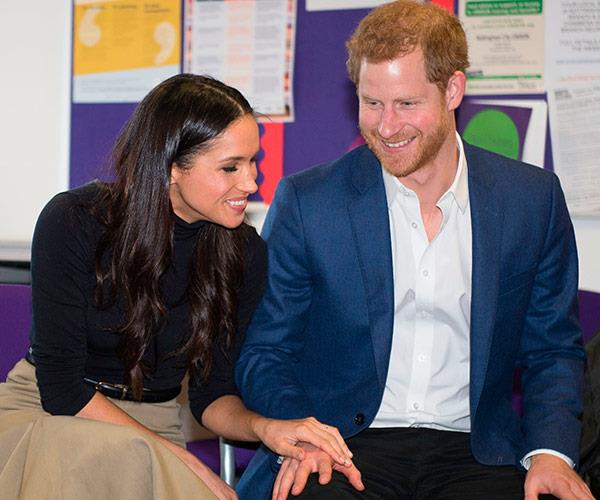 We can't wait to see Meghan on her big day!