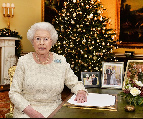We can't wait to see Her Majesty give her annual Christmas speech.