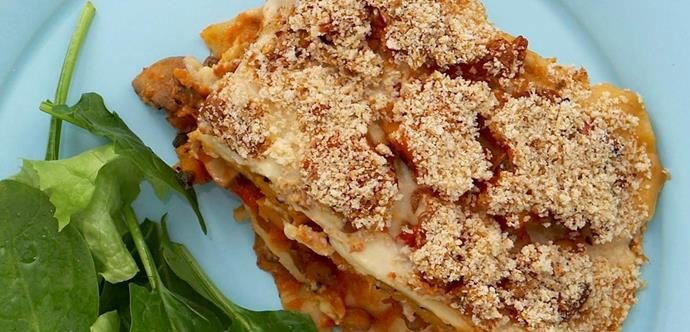 """Who needs turkey when you can try this delicious [**Vegan lasagna.**](http://www.foodtolove.com.au/recipes/vegan-lasagne-15837