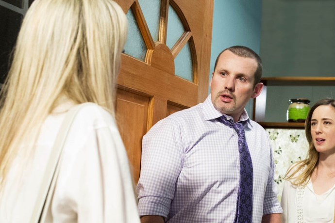 **Dee returns from the dead**, ***Neighbours***  After supposedly dying in a car accident years ago, Dee Bliss turned up to her former husband Toadie's house. Turns out that this new Dee was actually a con woman called Andrea Somers, who wanted to take all of Toadie's money.