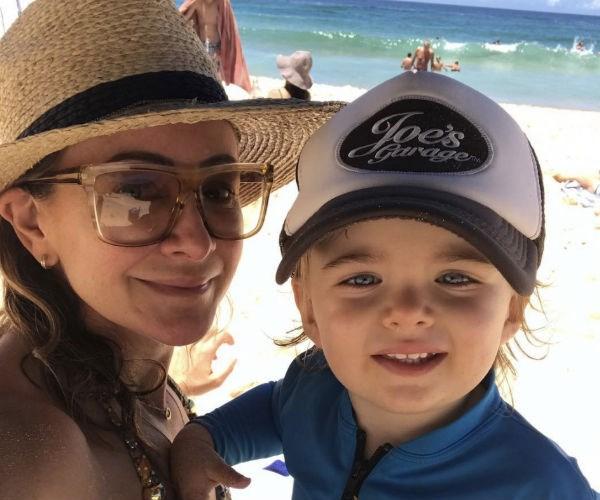 """The fitness guru has previously described motherhood as a """"fun ride."""""""
