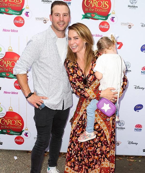 The trio stepped out for the annual Carols in the Domain event in Sydney.