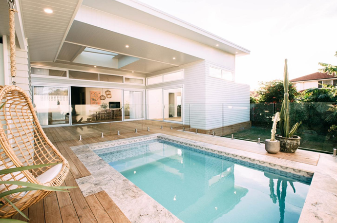 This splash pool is the perfect oasis.