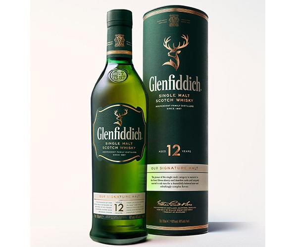 **Glenfiddich 12 Year Old – World's Most Awarded** If you are looking to please, you can't go past the world's most awarded single malt, Glenfiddich. This world class whisky is widely proclaimed as the best dram in the valley. *RRP $70. Suggested Serve: Neat or over ice*