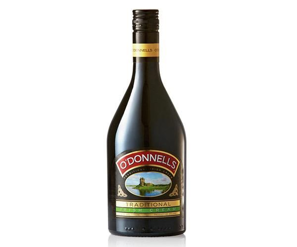 **O'Donnells Irish Cream**   Winner of the Spirits International Prestige Awards 2017 - Gold Medal + Consumers' Choice Award  *700ml $12.89, available at ALDI*