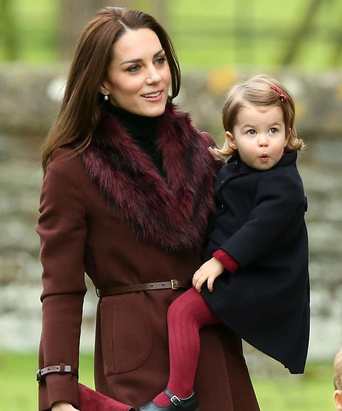And she especially loves to boss her four-year-old big brother Prince George around!