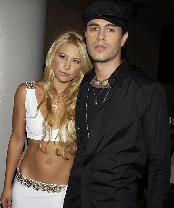 The tennis champ and the singer, pictured in 2003, are one of Hollywood's most elusive couples.