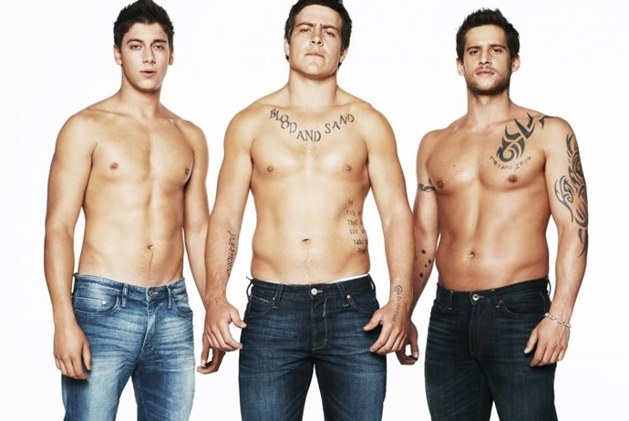 Casey, Brax and Heath Braxton