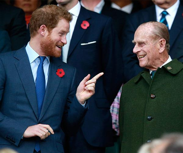 Prince Philip is passing the baton to Prince Harry!