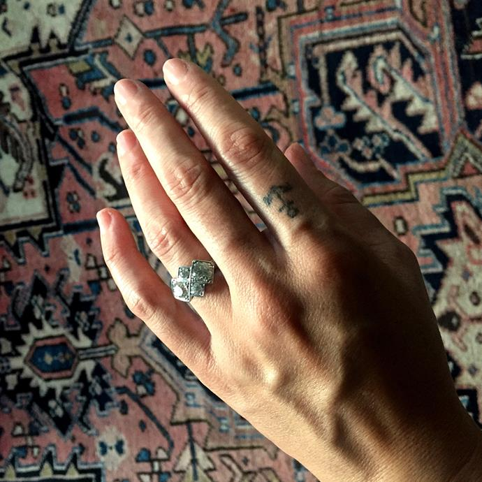 Michelle Branch's engagement ring.