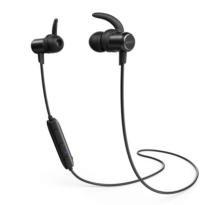 "If you want wireless headphones for on a slightly cheaper scale, you'll want to give Anker's SoundBuds Slim a look. Probably the best for its price on the market.  Only $27.99 and available on [the Anker website.](https://www.anker.com/products/variant/SoundBuds-Slim-Bluetooth-Headphone/A3235011|target=""_blank""