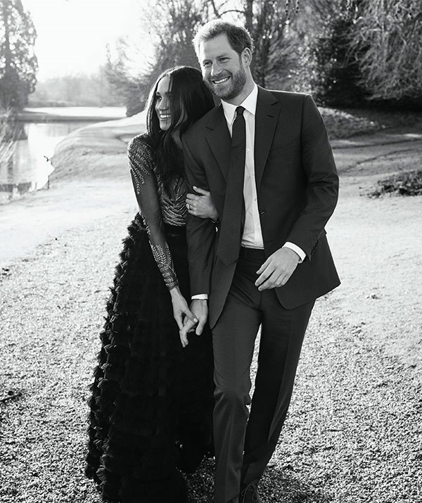 Our opinion? Meghan, and Harry, look as suitably stylish as they do in love.