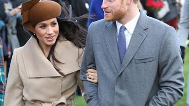 """Prince Harry and Meghan Markle's wedding day weather promises a """"spot of rain""""!"""